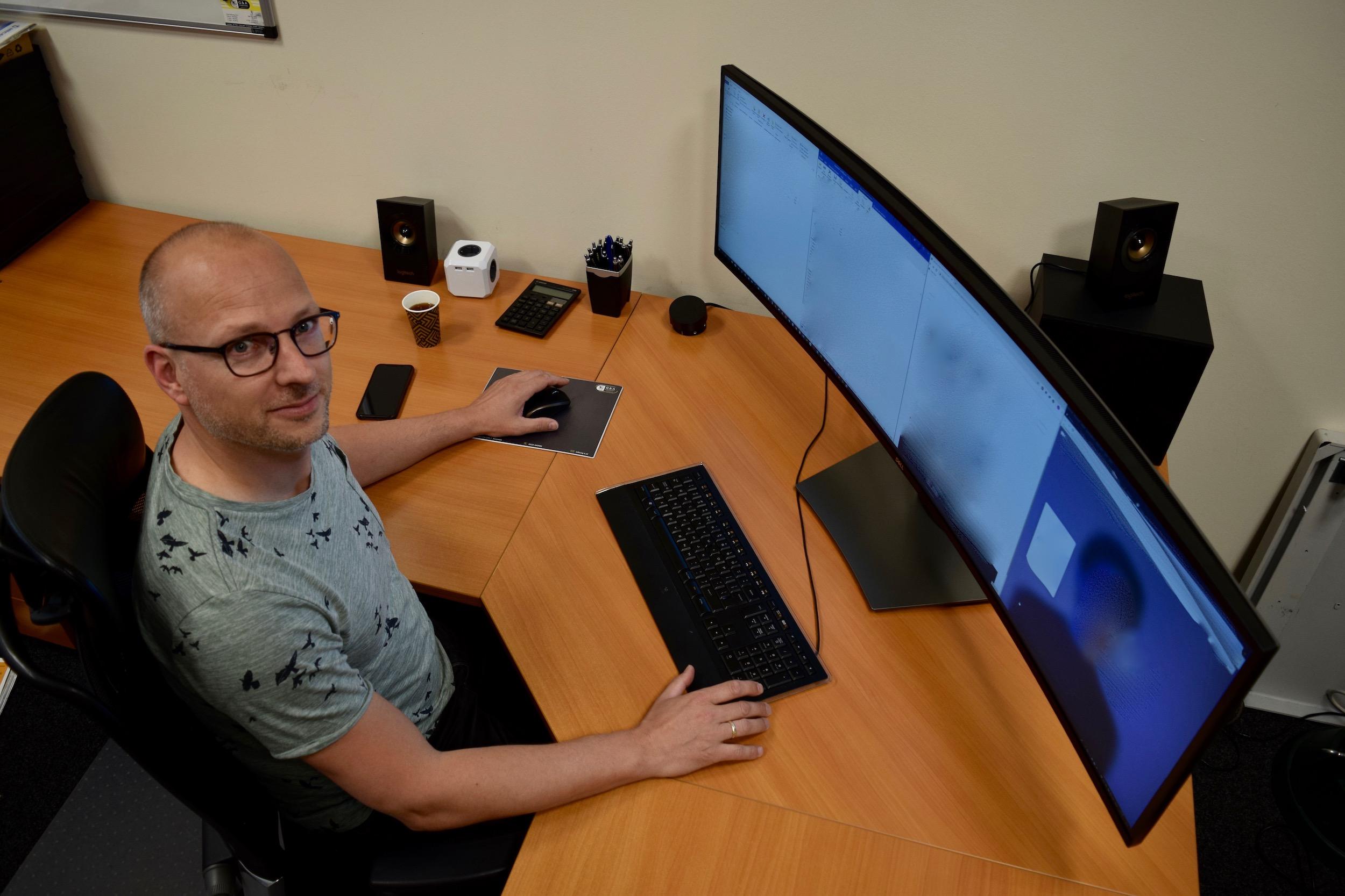 Curved monitoren kunnen een echte aanwinst zijn op jouw werkplek. Ontdek ze nu!